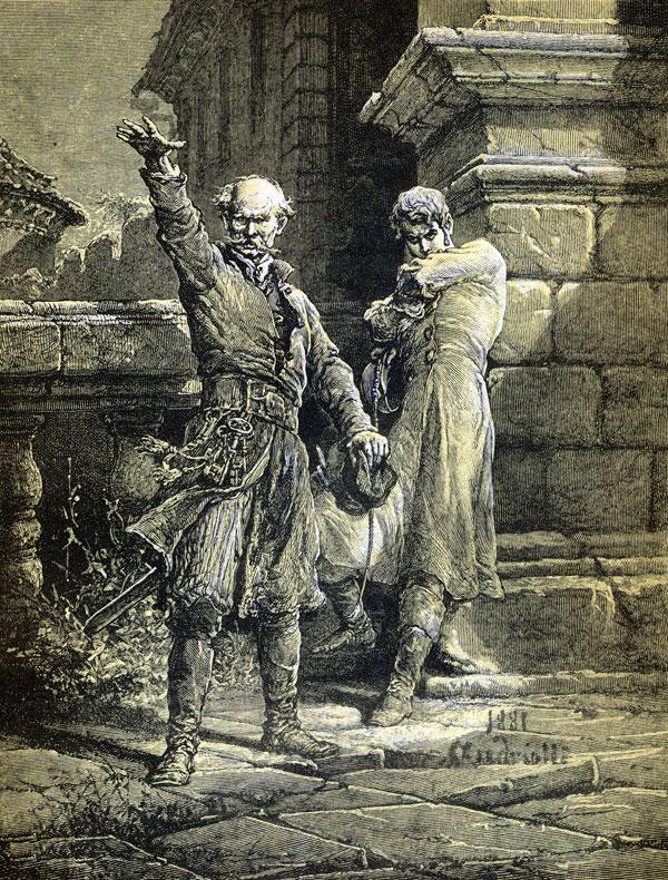 Nie masz zgody, Mopanku, pomiędzy Soplicą / I krwią Horeszków!