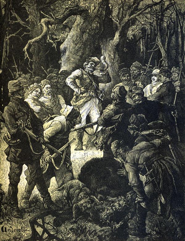 Natenczas Wojski chwycił na taśmie przypięty / Swój róg bawoli, długi, cętkowany, kręty...