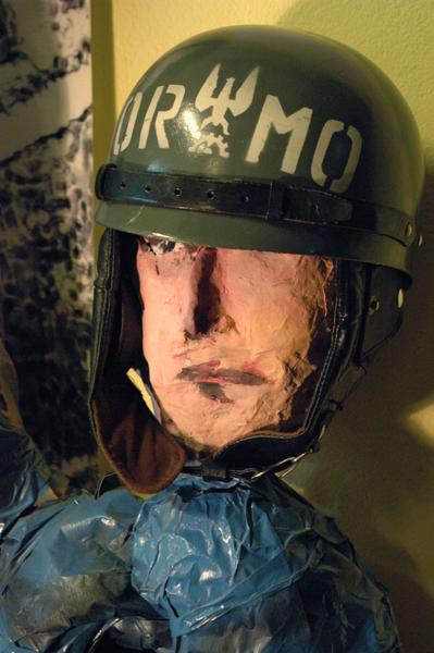 Ochotnicza Rezerwa Milicji Obywatelskiej (ORMO). Tzw. Oddziały Zwarte tej formacji czasami pomagały zomowcom rozbijać antyrządowe demonstracje.