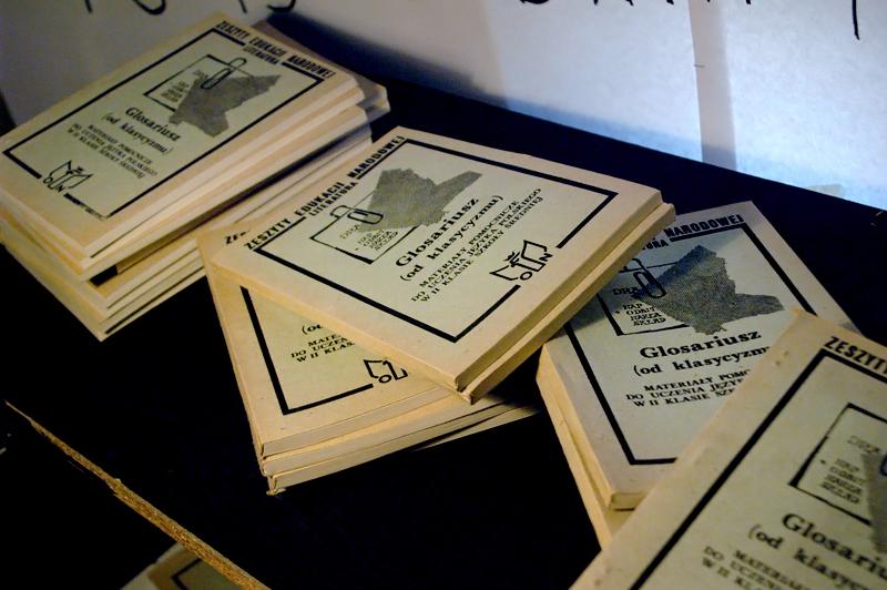 Mamy go!!! To szafka kolportera wydanych bez zgody PRL-owskiej cenzury książek!