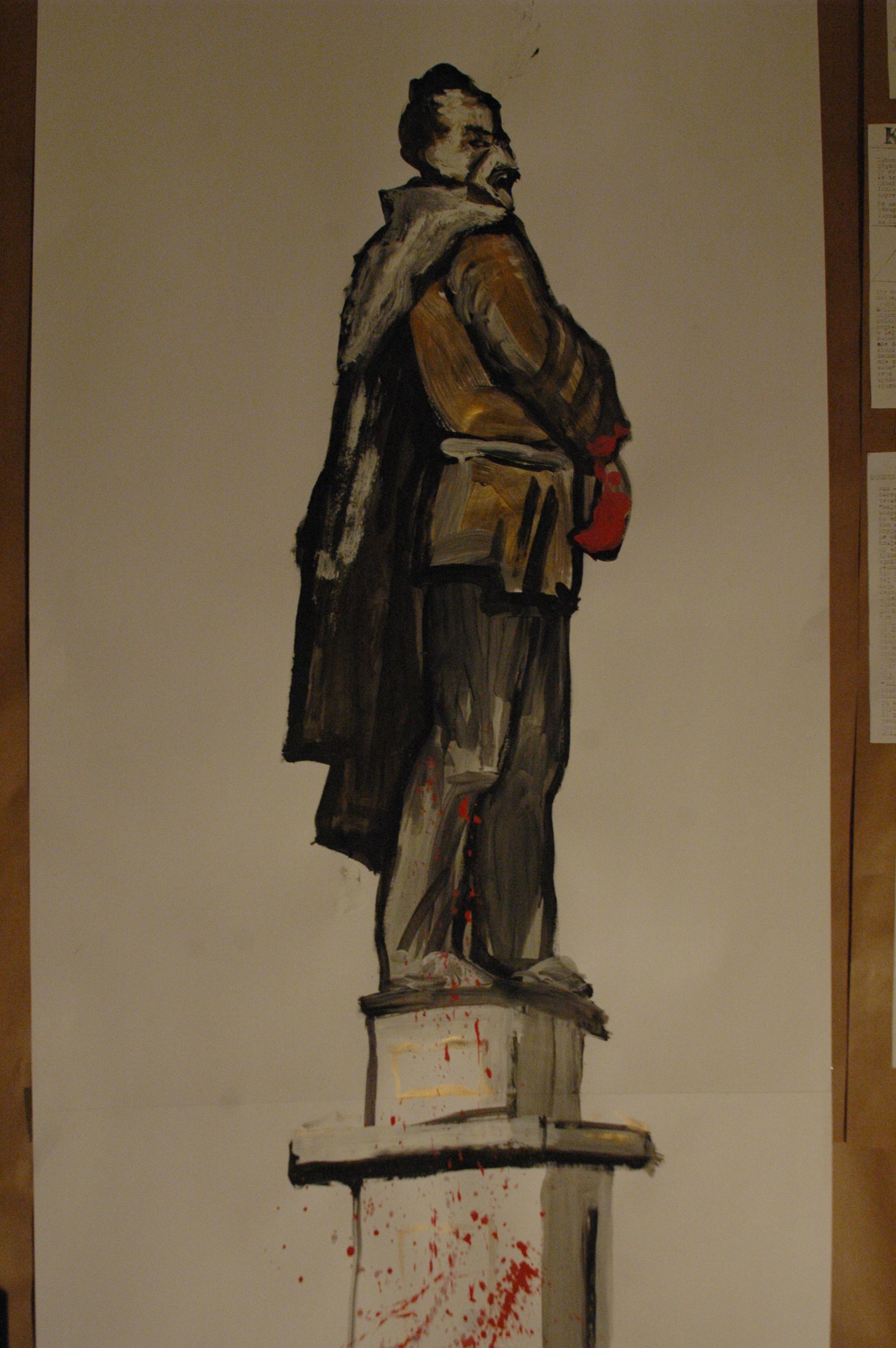 W stanie wojennym Emil wsławił się między innymi podpaleniem, znienawidzonego przez warszawiaków, pomnika Feliksa Dzierżyńskiego – szefa CzeKa (to taka dawna bolszewicka bezpieka).
