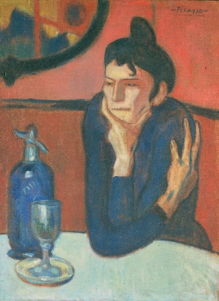 Picasso, Pijąca absynt