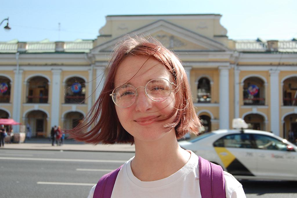 Portret na Newskim