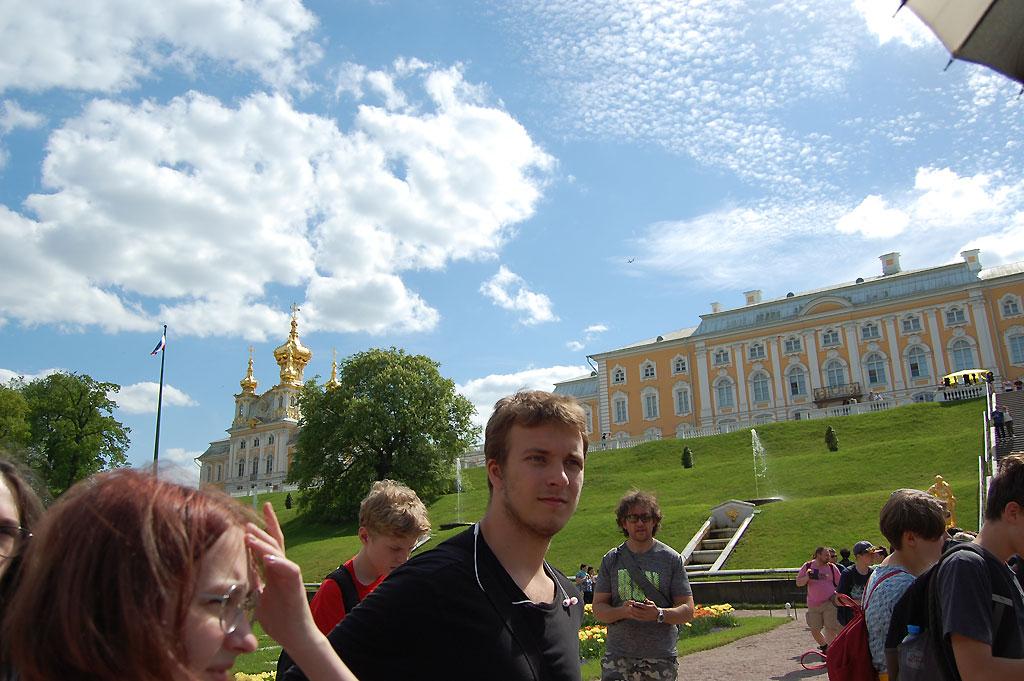 Pod niebem Peterhofu