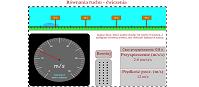 Równania ruchu - ćwiczenia (html5)