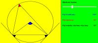 Kąty w okręgu (html5)