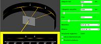 Interferencja światła na podwójnej szczelinie (html5)