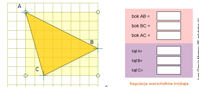 Rodzaje trójkątów (flash)