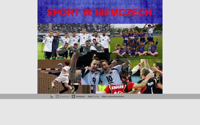 Sport w Niemczech