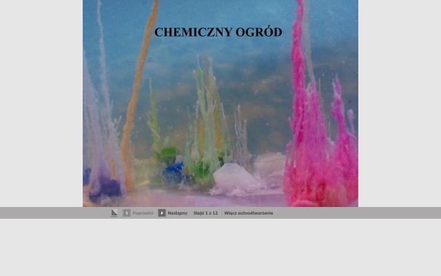 CHEMICZNY OGRÓD