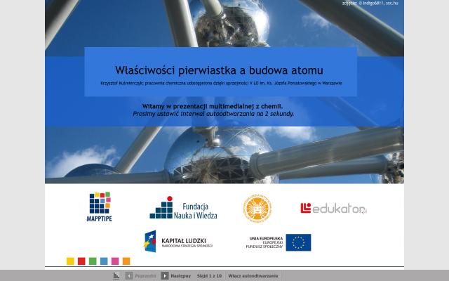 Właściwości pierwiastka a budowa atomu