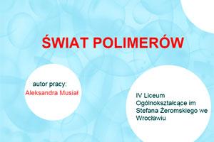 Świat polimerów
