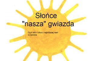 Słońce -