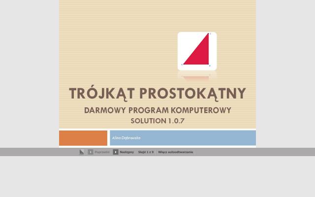 Program komputerowy do nauki matematyki -cz.2