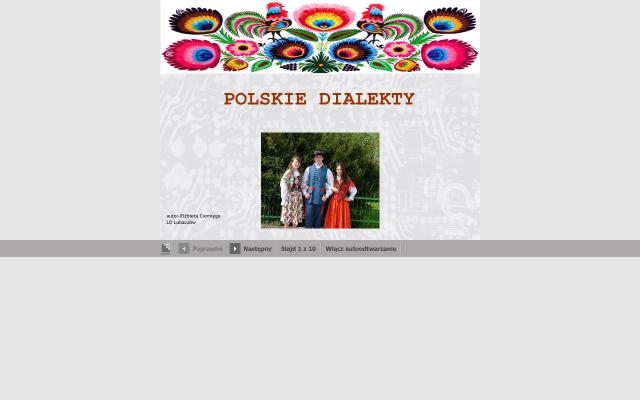 POLSKIE DIALEKTY