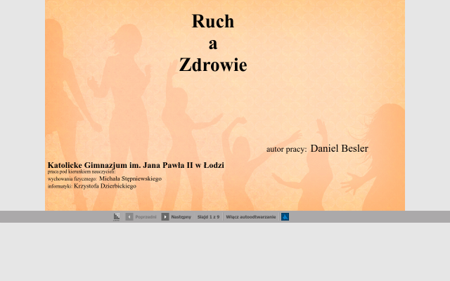 Ruch a Zdrowie