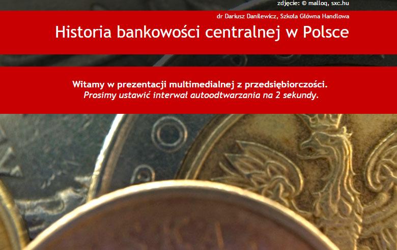 Historia bankowości centralnej w Polsce