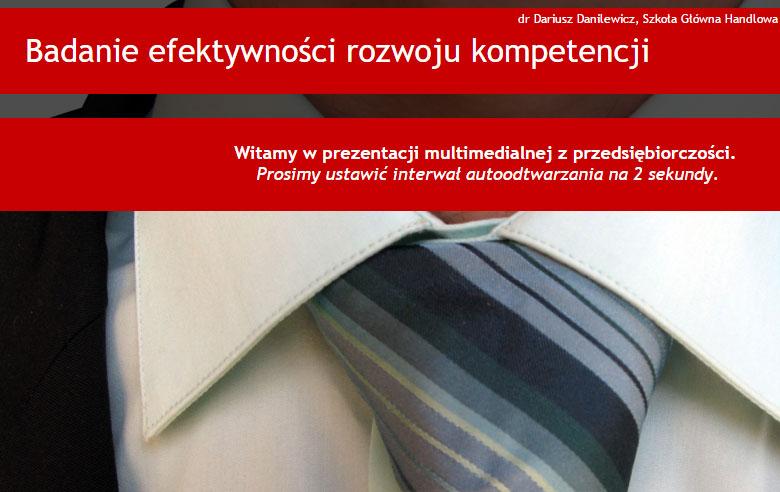Badanie efektywności rozwoju kompetencji – podejście biznesowe
