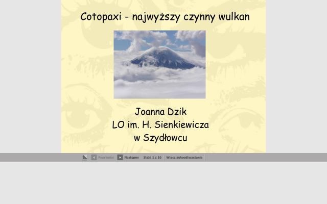 Cotopaxi Wulkan
