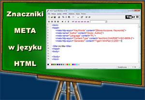 Znaczniki  META  w języku  HTML