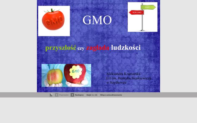 GMO - przyszłość czy zagłada ludzkości