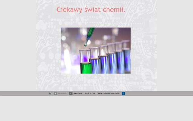 Ciekawy świat chemii.