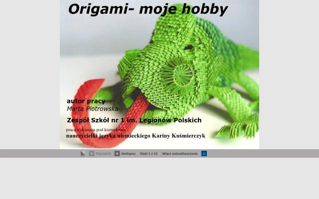 Origami-moje hobby