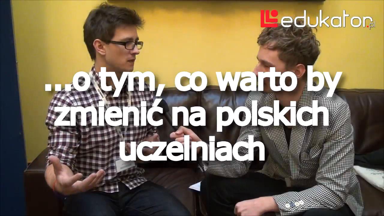Co zmienić na polskich uczelniach?
