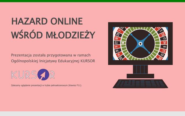 Hazard online wśród młodzieży