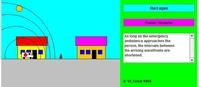 Przykład efektu Dopplera (html5)
