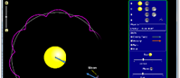 Grawitacja a orbity (html5)