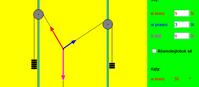 Równowaga trzech sił (html5)
